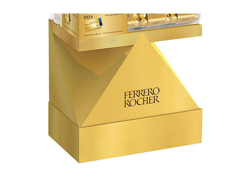 Ferrero, Rocher, Display